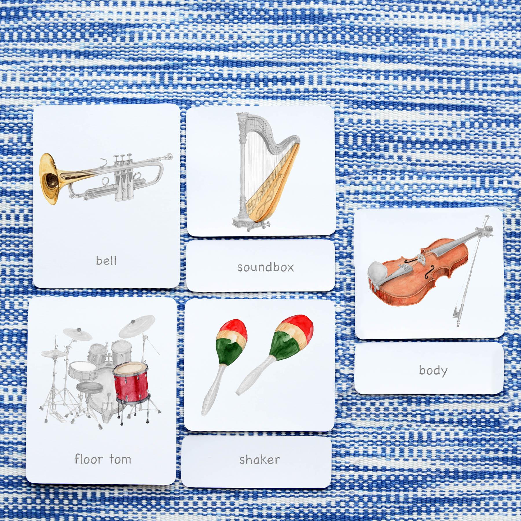 Parts Of: Instruments | The Montessori Company